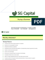 SGCapital Services Buying a Business