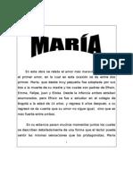 Resumen libro de María