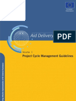 Project Cycle Management Guidelines Vol. 1
