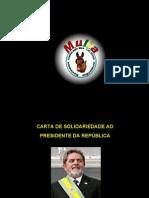 CartaDeSolidariedadeAoPresidenteDaRepublica