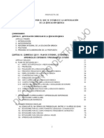 Acuerdo,Articulacion de La RIEB