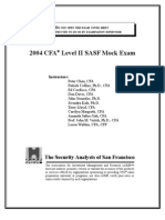 Mock Exam Level II 2004 Final Ans