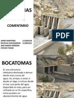 BOCATOMA COMENTARIO