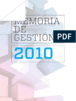 Memoria Instituto Tecnológico de Canarias (2010)