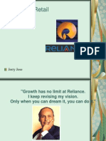 Reliance and Retail