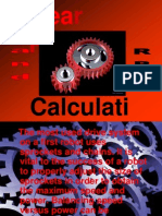 Gear Ratio and RPM Calculations 5508