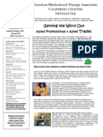 Spring 2008 Newsletter California Horticultural Therapy