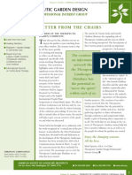 Fall-Winter 2004 Newsletter - Healthcare and Therapeutic Design Professional Practice Network