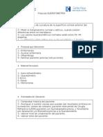 Protocolo Queratometría