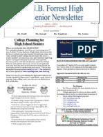 Senior Newsletter 2012