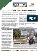 Spring 2010 Newsletter - Disabled Independent Gardeners Association