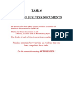 Task 6 Business Docs