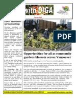 Spring 2009 Newsletter - Disabled Independent Gardeners Association