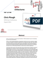 Designing Highly-Available Architectures for OTM