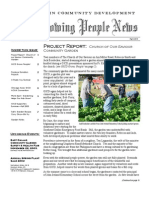 Growing People Newsletter - Fall 2003