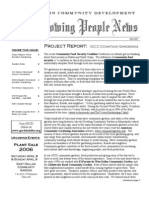 Growing People Newsletter - Fall 2005