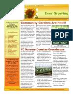 Growing People Newsletter - Summer 2009