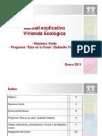 Manual Hipoteca Verde 2011