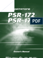 Yamaha PSR 170 Owners Manual