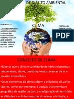 Apresentação de trabalho de direito ambiental