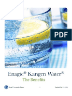 Kangen Water Benefits