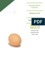 Desnaturação de proteinas