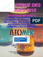 Catalogue Formation Developpement Personnel Expression Communication Gestion Projet 2012