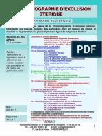 Formation Continue Chromatographie Dexclusion Sterique 2012