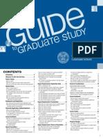 Guide to Graduate Study Cornell