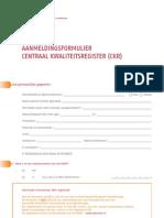 CKR Aanmeldingsformulier 492473_12-01-11