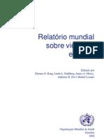 Relatório Mundial sobre violencia e saúde