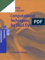 Computational Techniques for Fluid Dynamics Solutions Manual - Fletcher C.A