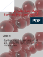 National Voluntary Blood Services Program (NVBSP)
