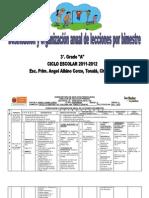 dosificacionanualdeleccionestercergradoa2011-2012-110914194821-phpapp02