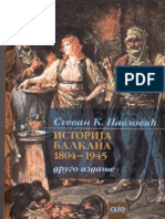 Stevan Pavlovic - Istorija Balkana 1804-1945
