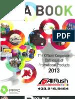 2013 Promotional Catalogue
