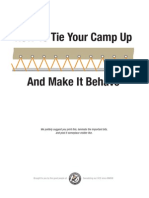 How to Tie Your Camp Up