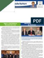 Rep. Harhart Fall 2011 Newsletter