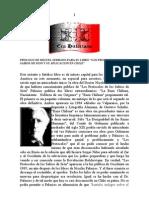 Prologo de Miguel Serrano Para Su Libro Los Protocolos de Sion y su Aplicación en Chile