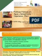 NEY DIAZ Políticas Públicas AyS Cajamarca Perú 2