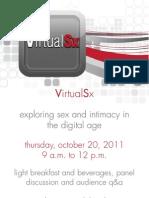 VirtualSx Event (Invite-Only)