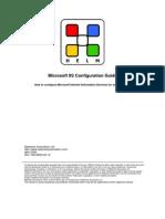 Microsoft IIS Configuration Guide