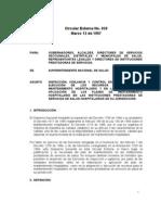 Circular Externa 029 de 1997 Mantenimiento Hospital a Rio