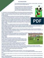 Las 17 Reglas del Fútbol y mas