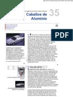 CABALLOS de ALUMINIO El Aluminio en La Fabricacion de Carrocerias