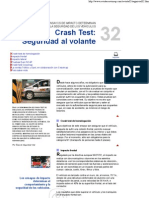 CRASH TEST Seguridad Al Volante