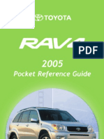Toyota Rav4 2005 Pocket Reference Manual