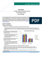 Housing Survey Fact Sheet 112310