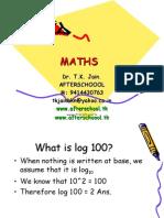 28 May Basic Maths