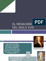 El Renacimiento Del Siglo Xviii